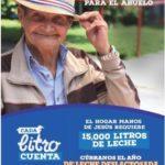 Afiche Campaña de la Leche